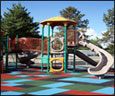 Recycled Rubber Playground Surface