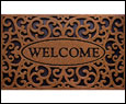 CleanScrape Recycled Rubber Home Door Mats