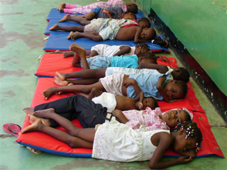 Rest Mats In Haiti