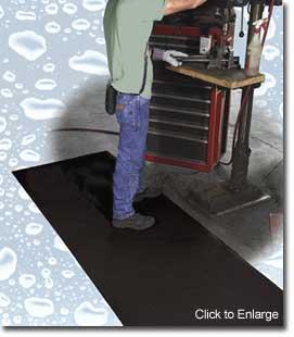 Clean Grip Non Slip Rubber Mat