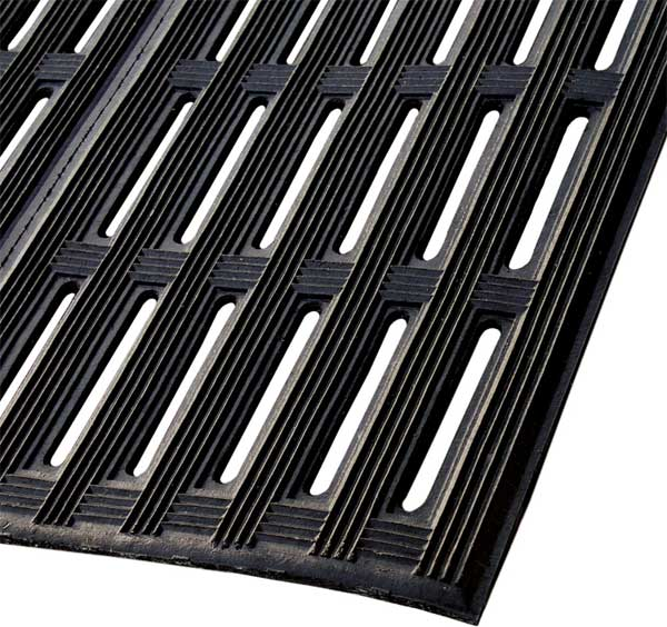 Non Slip Rubber Mats With High Traction And Drainage Holes