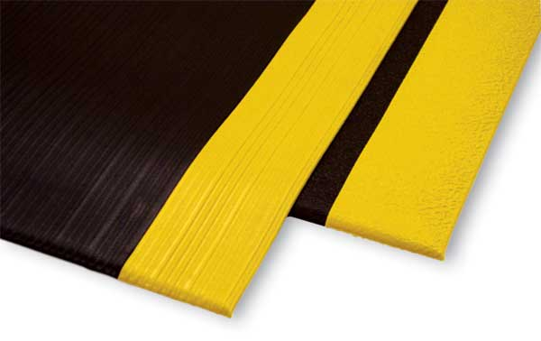 Safety Anti Fatigue Mat With Yellow Osha Borders