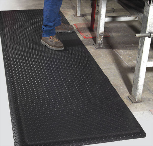 Extra Thick Industrial Fatigue Mat With Diamond Top 15