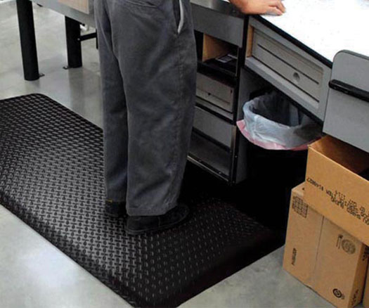 Supreme Diamond Plate Antifatigue  Matting