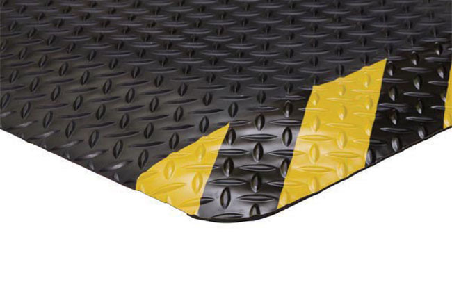 Anti Fatigue Mat 11 16 Quot Thick Yellow Safety Borders And