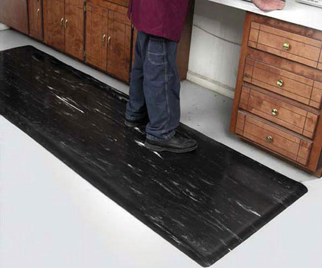 Smooth Marble Top Anti Fatigue Mat