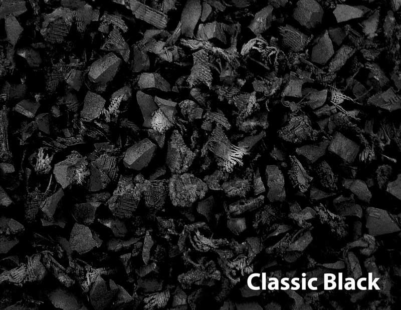 black - Black Rubber Mulch