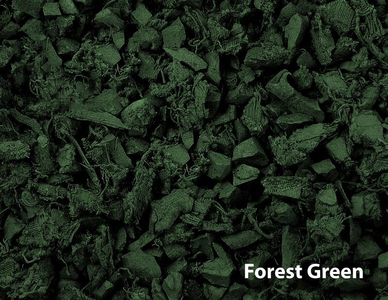 Decorative Rubber Mulch Granular