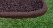 Recycled Rubber Garden Border / Edging