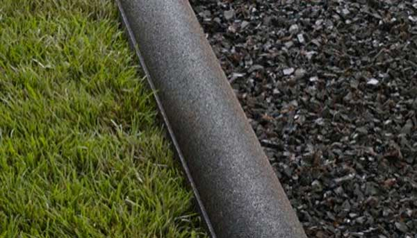 Recycled Rubber Garden Border Edging Landscape