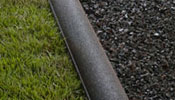 Recycled Rubber Landscape Edging