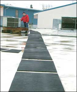 Roof Walkway Safety Mats