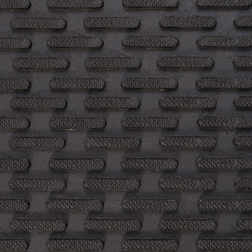 Rubber Mat Texture Fingers Black