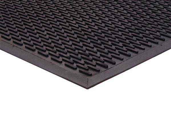 Industrial Rubber Flooring : Super grip aggressive entrance scraper mat