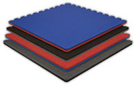 Interlocking Martial Arts Flooring Tiles