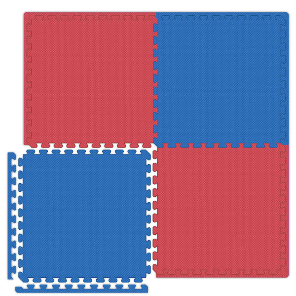 Interlocking Tiles   Reversible Red/Blue