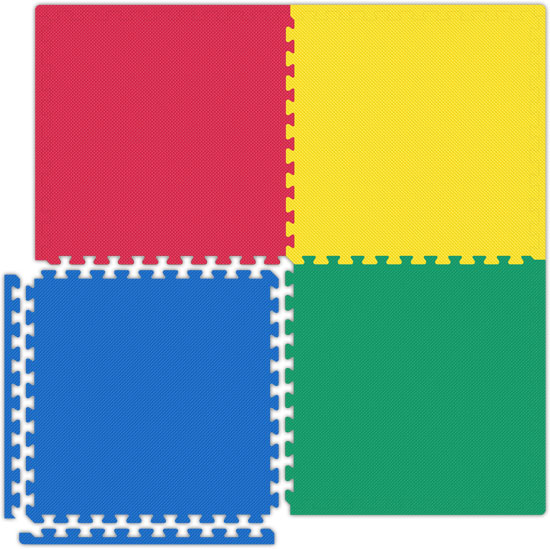 High Quality Garage Floor Tiles   Red/Yellow/Blue/Green