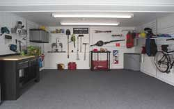Waterproof Basement Flooring And Garage Flooring - Padded garage floor mats