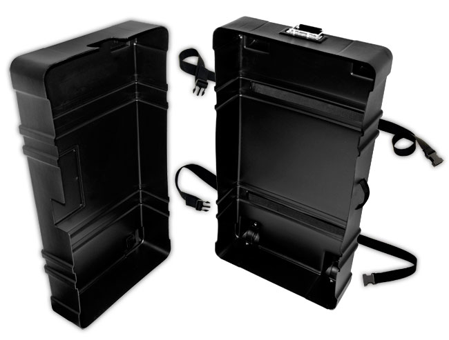 Hard Shell Rolling Shipping Case To Transport Tradeshow Floor