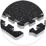 Black/Grey Rubber Floor Tiles
