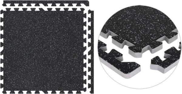 rubber floor mats. Black/Grey Rubber Floor Tiles Mats
