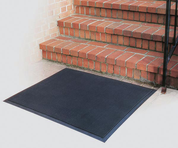 rubber mat scraper surface - Rubber Door Mat