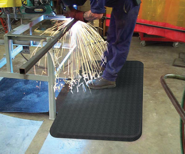 Standing Mat For Welding Flame And Spark Proof