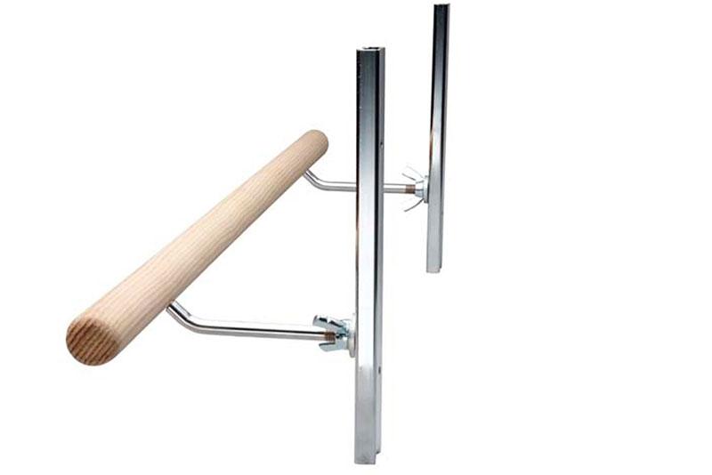 Wall Mounted Single Ballet Bar Height Adjustable