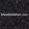 Solid Black Bounce Back Rubber Tiles