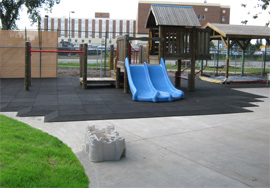 eco-friendly playground flooring