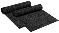 heavy duty rubber flooring - recycled rubber rolls