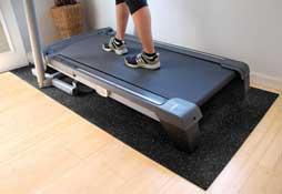 Rubber Treadmill Mat
