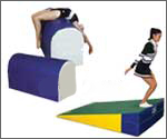Gymnastic Equipment: gymnastics mats, inclines (cheese mats, wedges), balance beams & more.