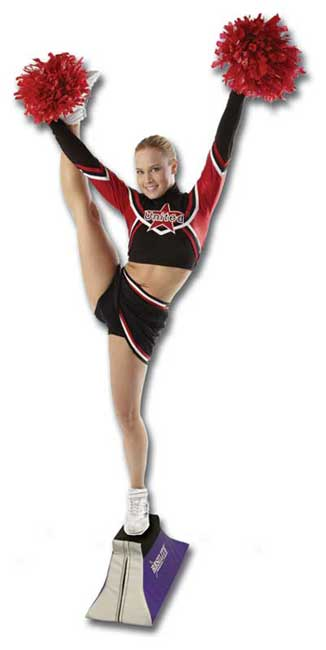 Balance Trainer For Cheer Stunts And Beams Free Shipping