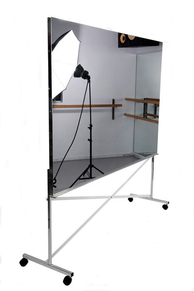 Glassless Mylar Rolling Mirrors For Dance Studios