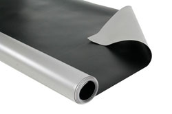Vinyl Dance Floor Gray Black