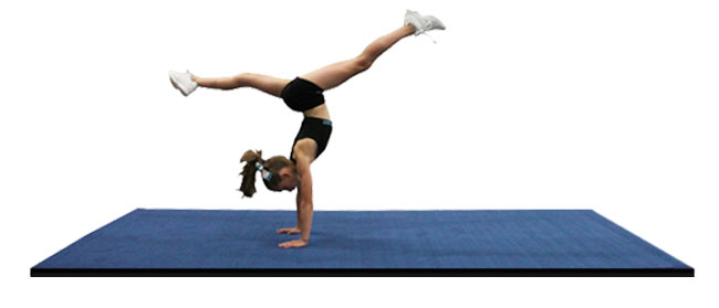 practice cheer mats and gymnastics mats
