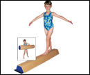 Foam Sectional Floor Balance Beam