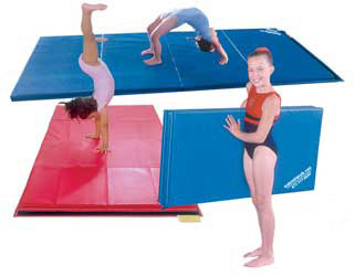 gymnastics mats many sizes and colors