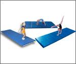 Gymnastics Mats - Tumbling Mats, Crash Mats, Practice Mats, Throw Mats, Crosslink Foam Rolls and More