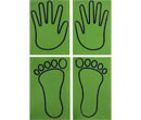 Hand and Feet Positioning Pads