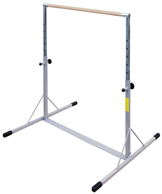 Kids Gymnastics Mini High Bar With A Maple Wood Bar And