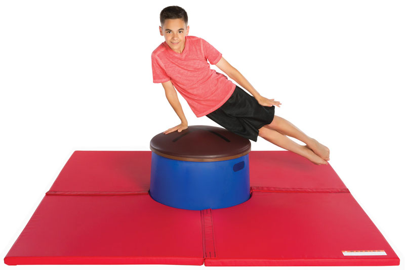 Mushroom Pommel Horse Trainer Ultra Dome With Mat