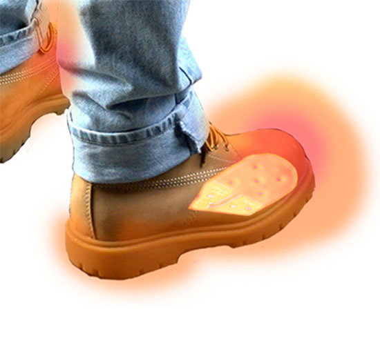 Battery Heated Shoe Inserts To Warm Your Feet