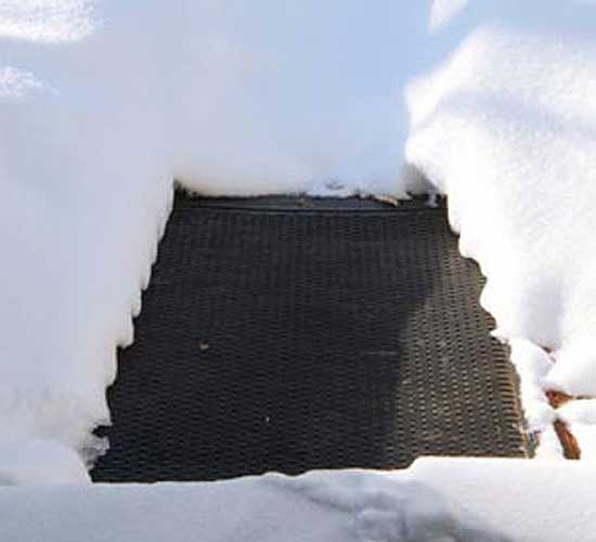 Mats For Snow Melt