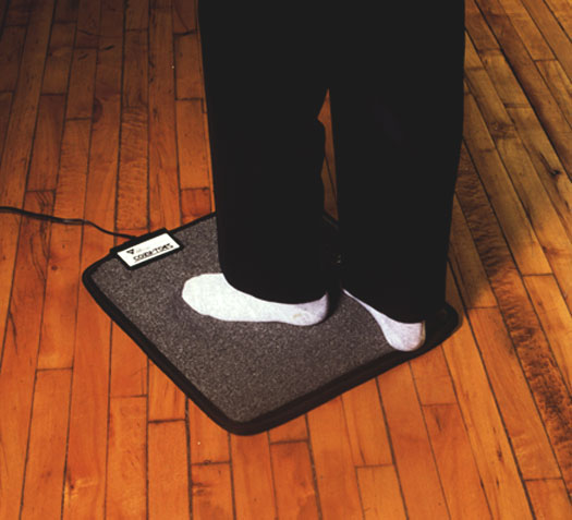 Foot Warmer Mat For Under Your Desk
