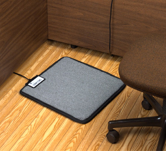 Heated Floor Mat Under Desk Floor Matttroy