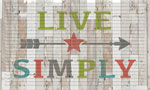 Inside Door Mats: Live Simply