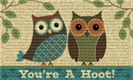 Indoor Door Mats: Your a Hoot