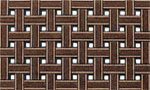 Outdoor Door Mats - Weave Brown